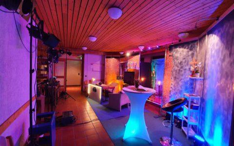 Das Studio der SkyChurch